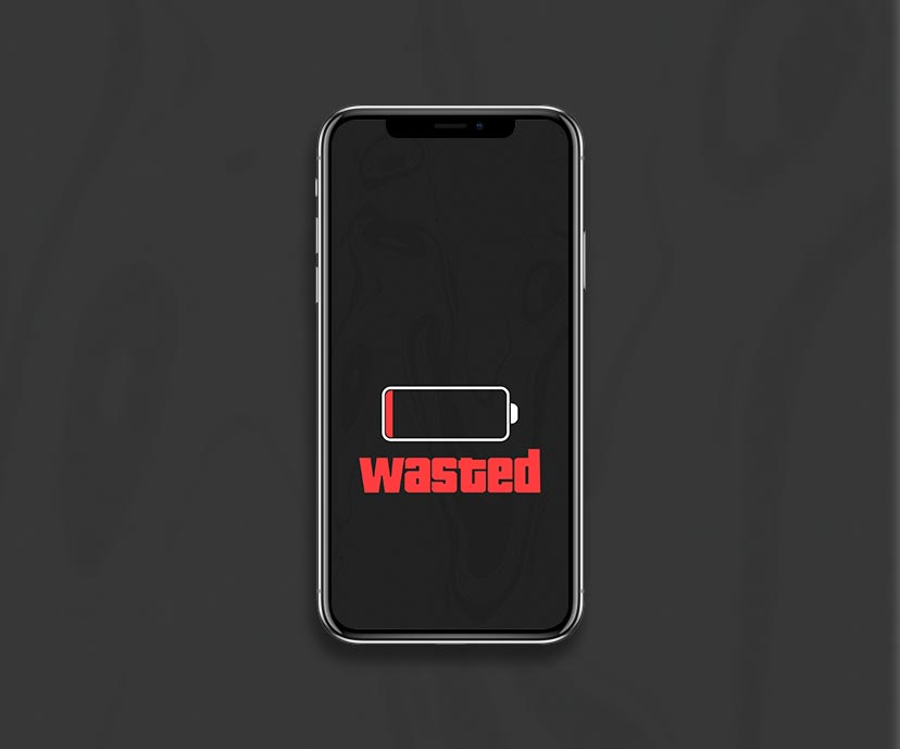 low battery wasted dark wallpapers collection