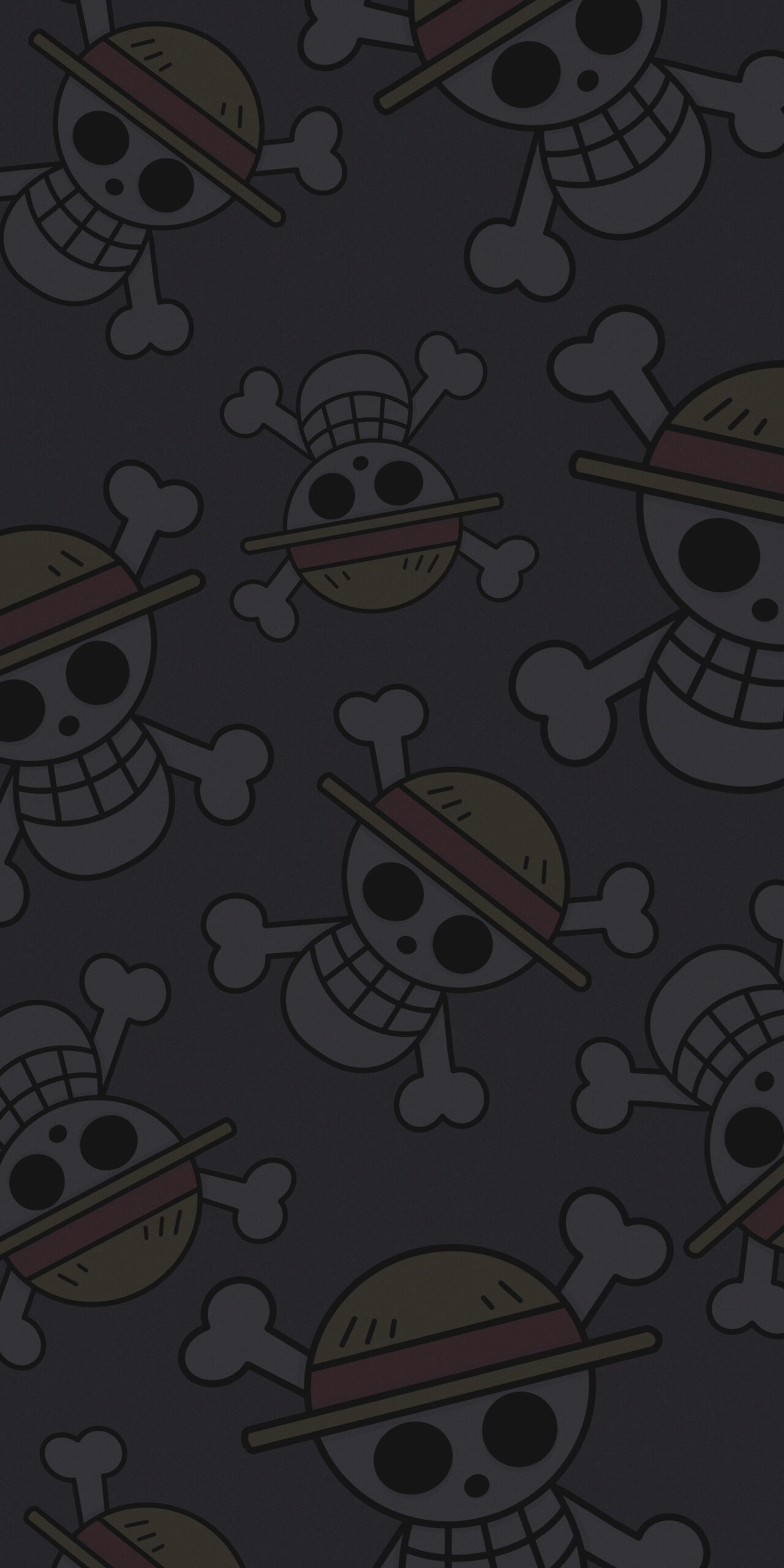 one piece straw hat pirates dark background wallpaper