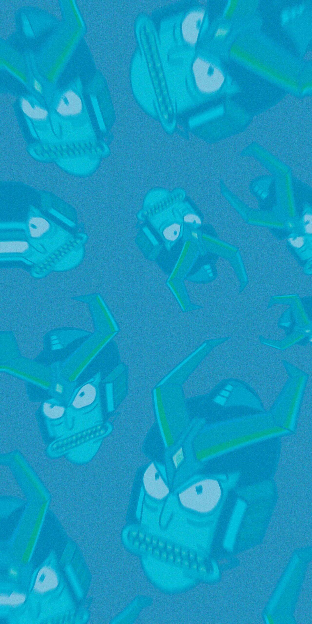 Rick Sanchez Gundam Blue Wallpapers - Rick and Morty ...