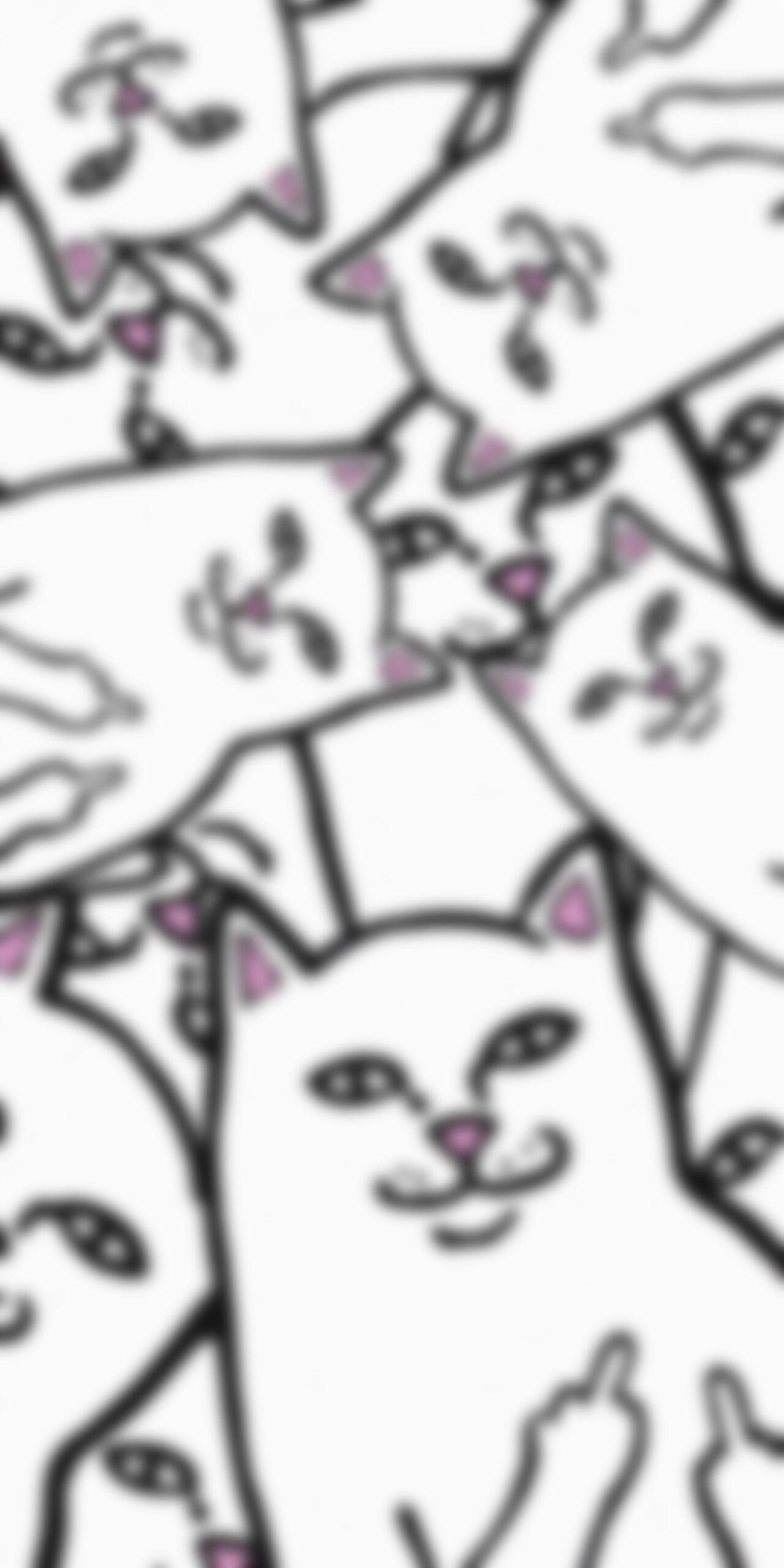rip n dip lord nermal heap blur wallpaper