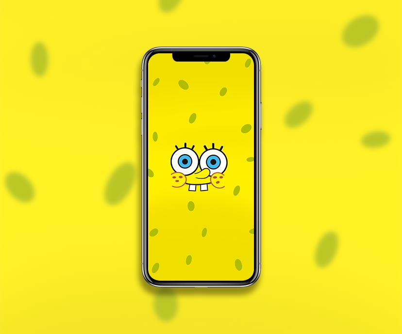 spongebob smiling face wallpapers collection