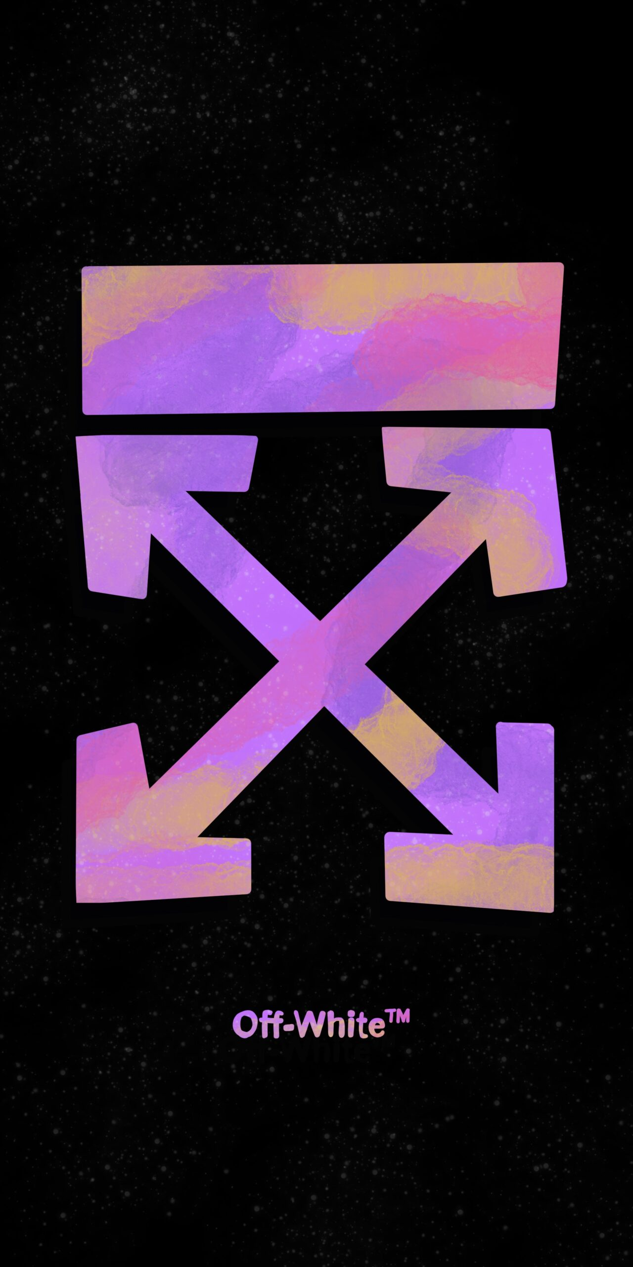 streetwear off white purple spray wallpaper