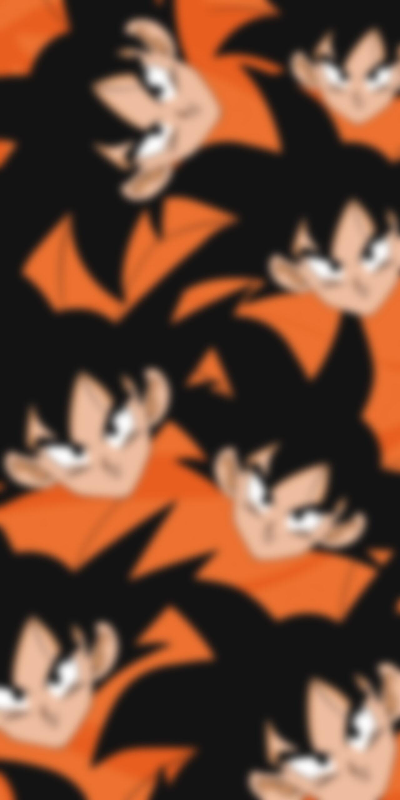 dragon ball z goku orange blur wallpaper