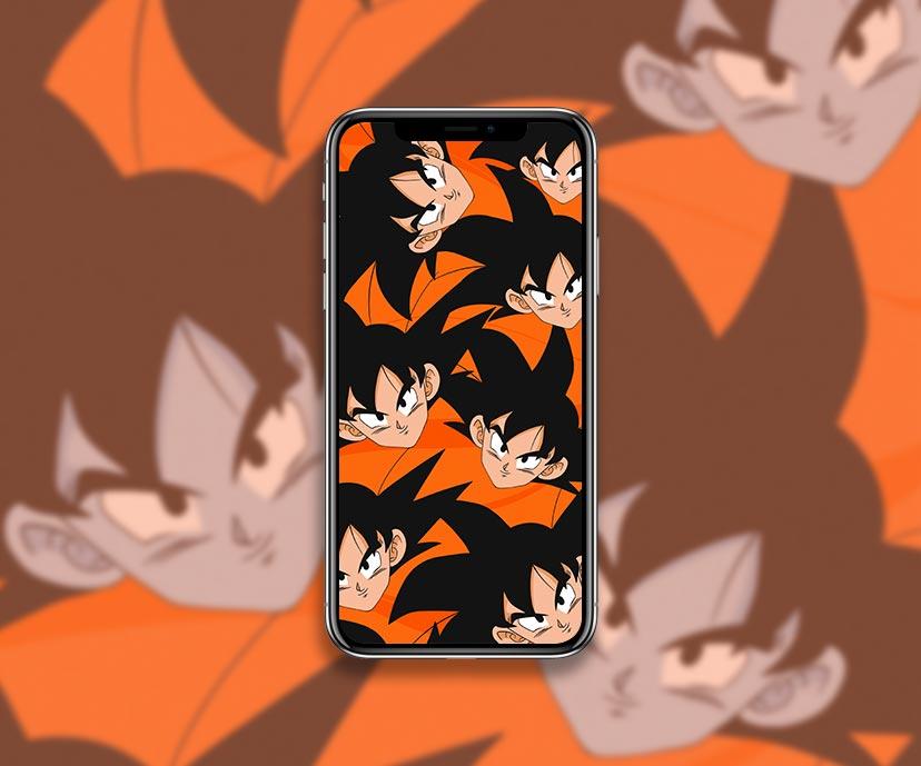 dragon ball z goku orange wallpapers collection