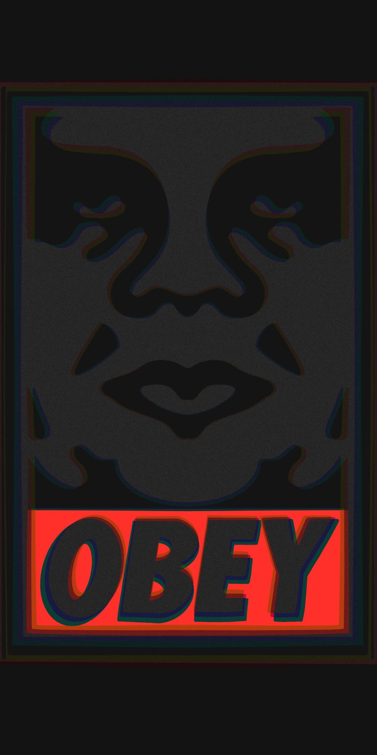 obey dark wallpaper