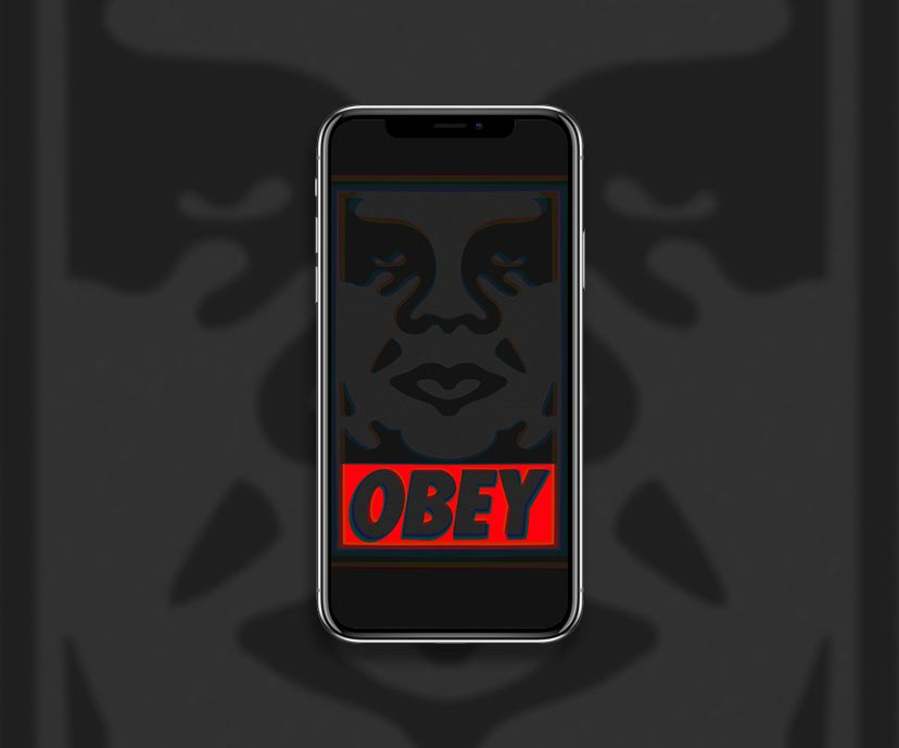 obey dark wallpapers collection