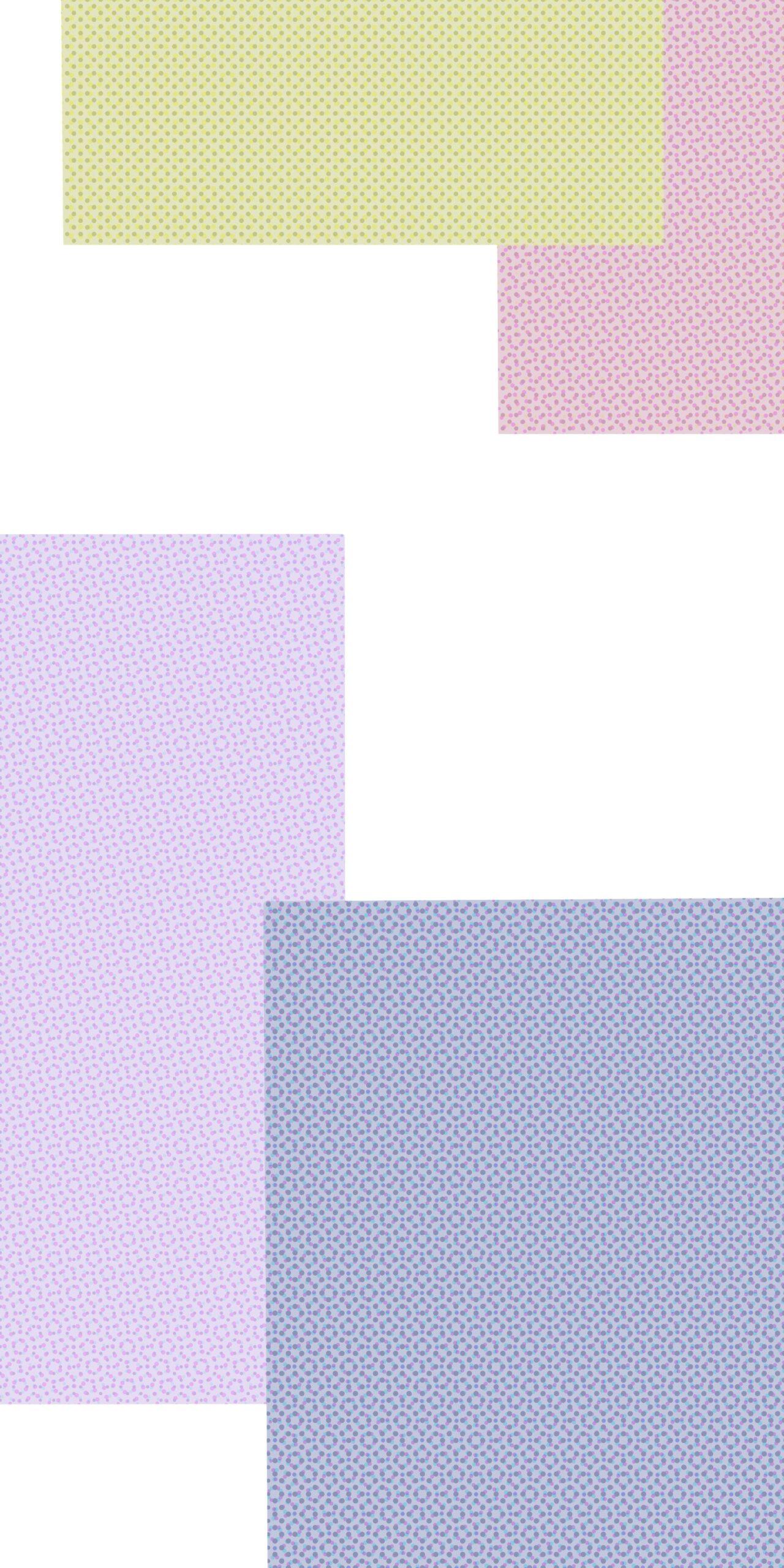 pastel rectangles halftone wallpaper