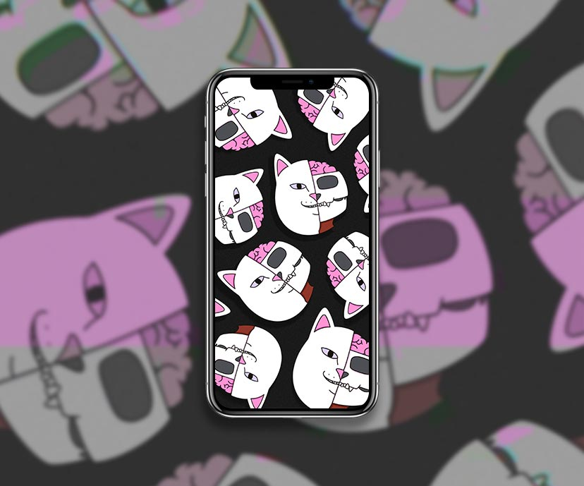 ripndip lord nermal anatomy black wallpapers collection