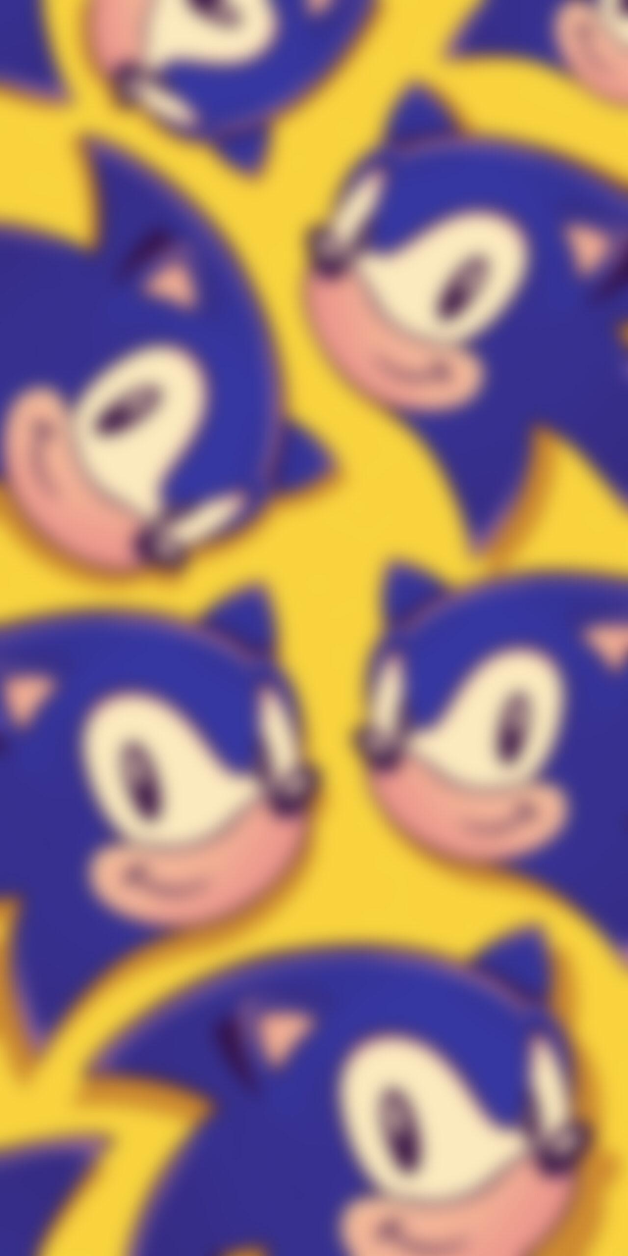sonic yellow blur wallpaper