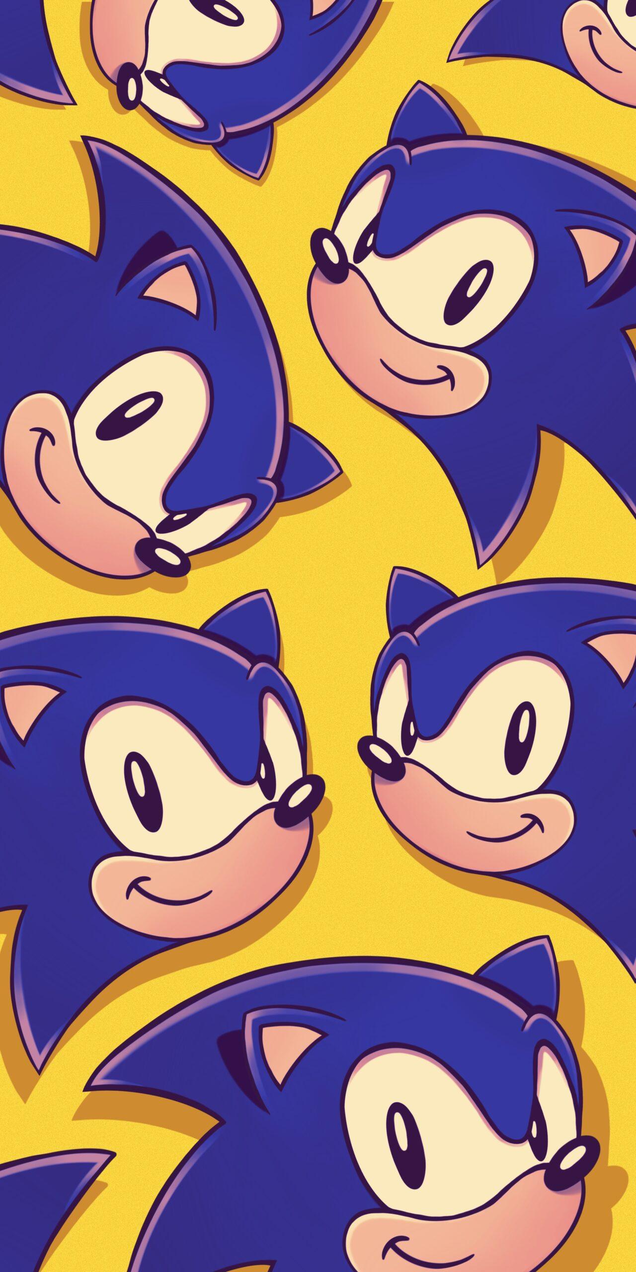 sonic yellow wallpaper