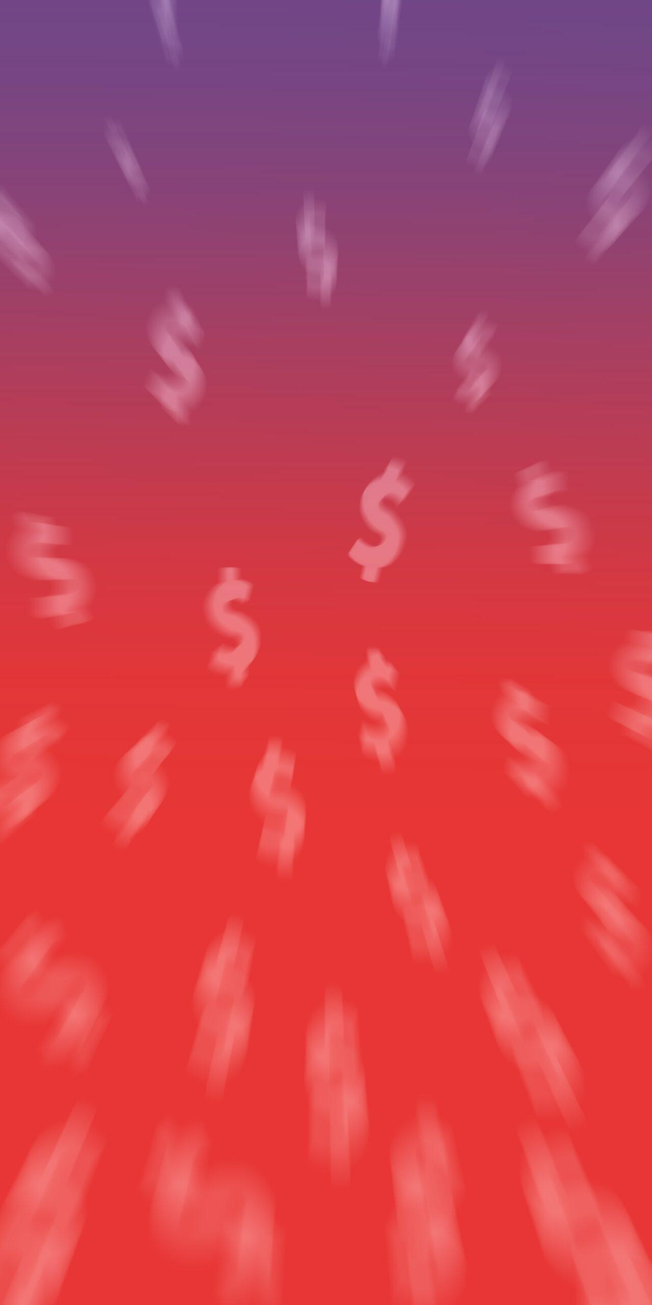spongebob mr krabs money eyes red background wallpaper