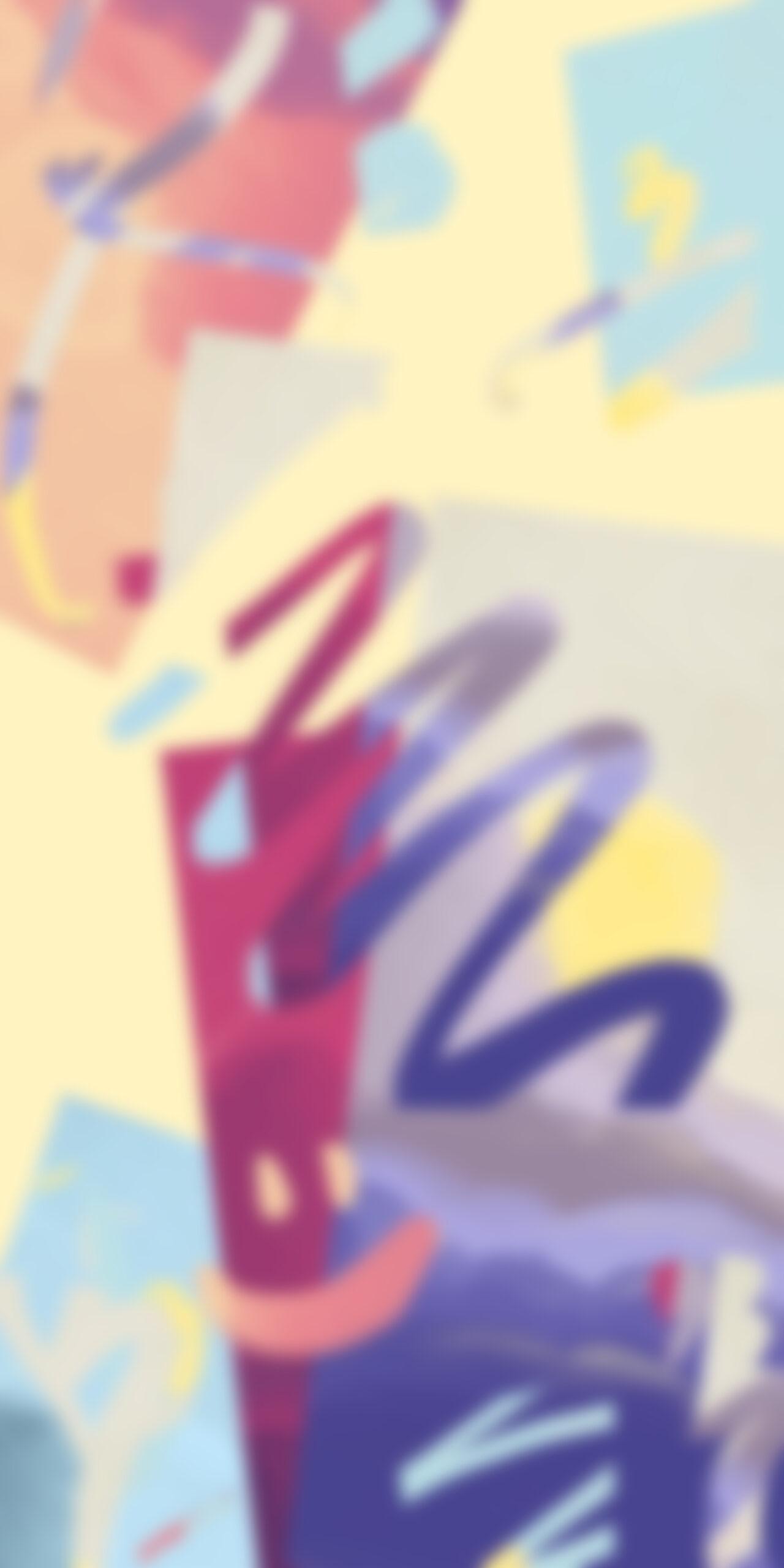 abstract art harmonious light blur wallpaper