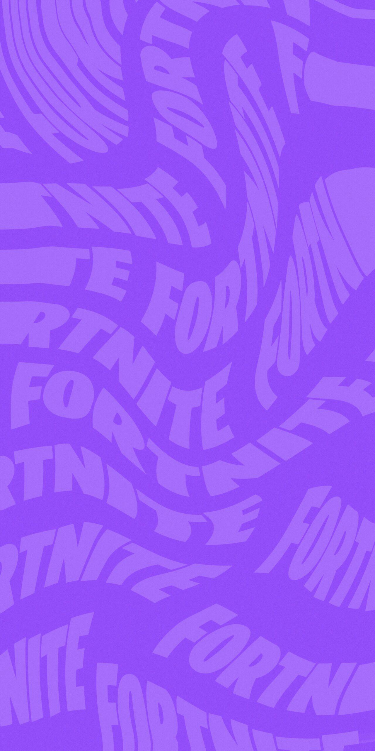 fortnite logo purple background wallpaper