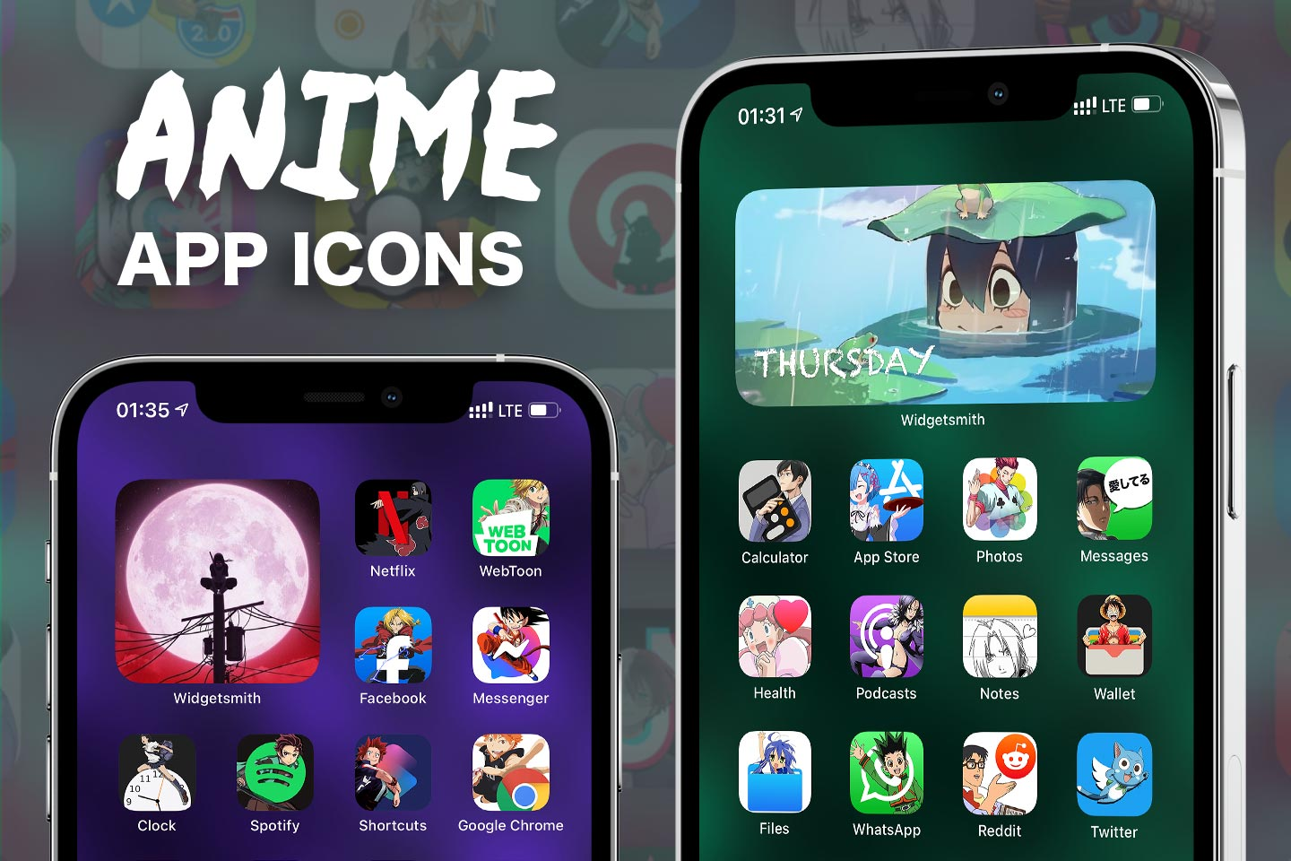 anime app icons pack