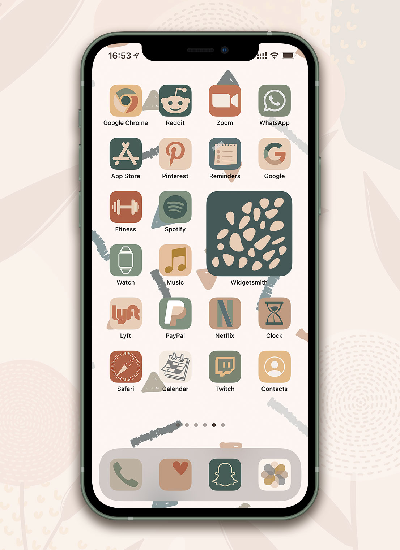 boho ios app icons pack preview 2