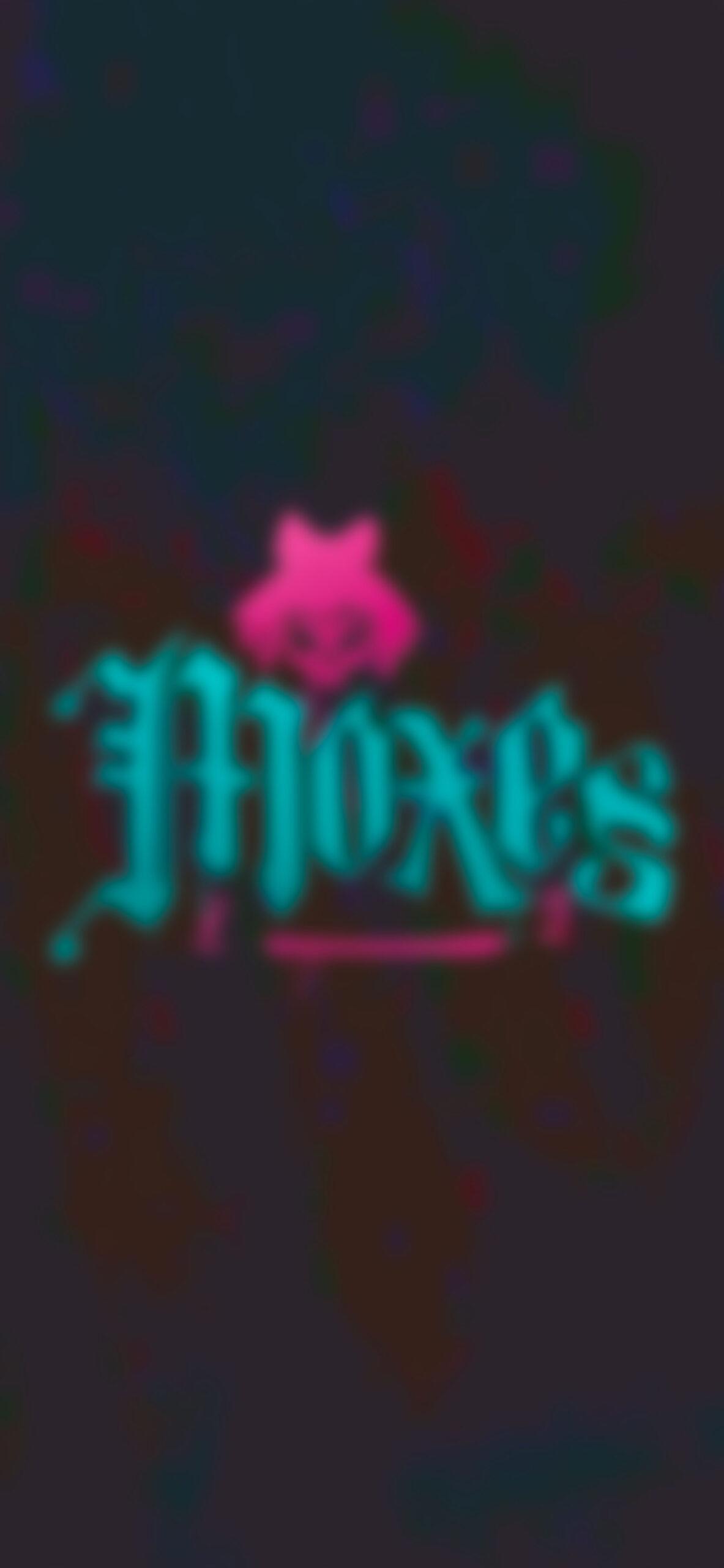 cyberpunk 2077 moxes logo glitch dark blur wallpaper