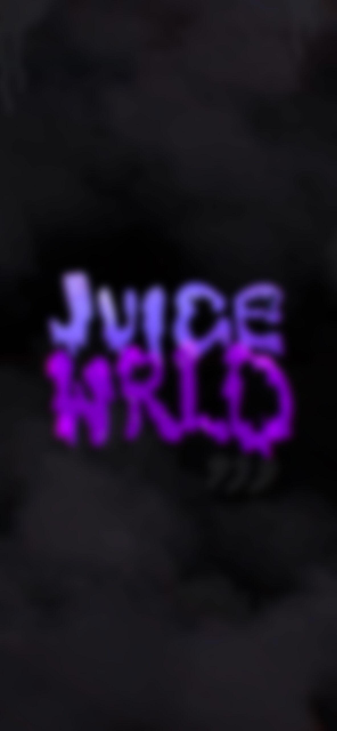 juice wrld tag black blur wallpaper