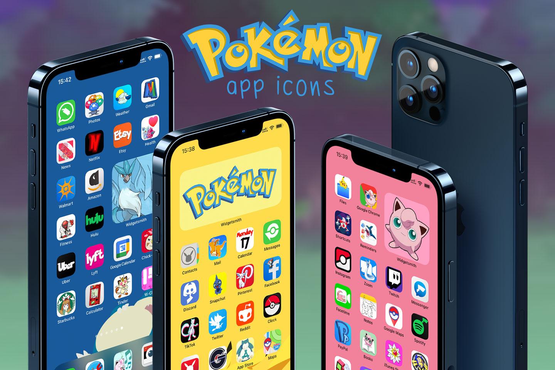 pokemon app icons pack