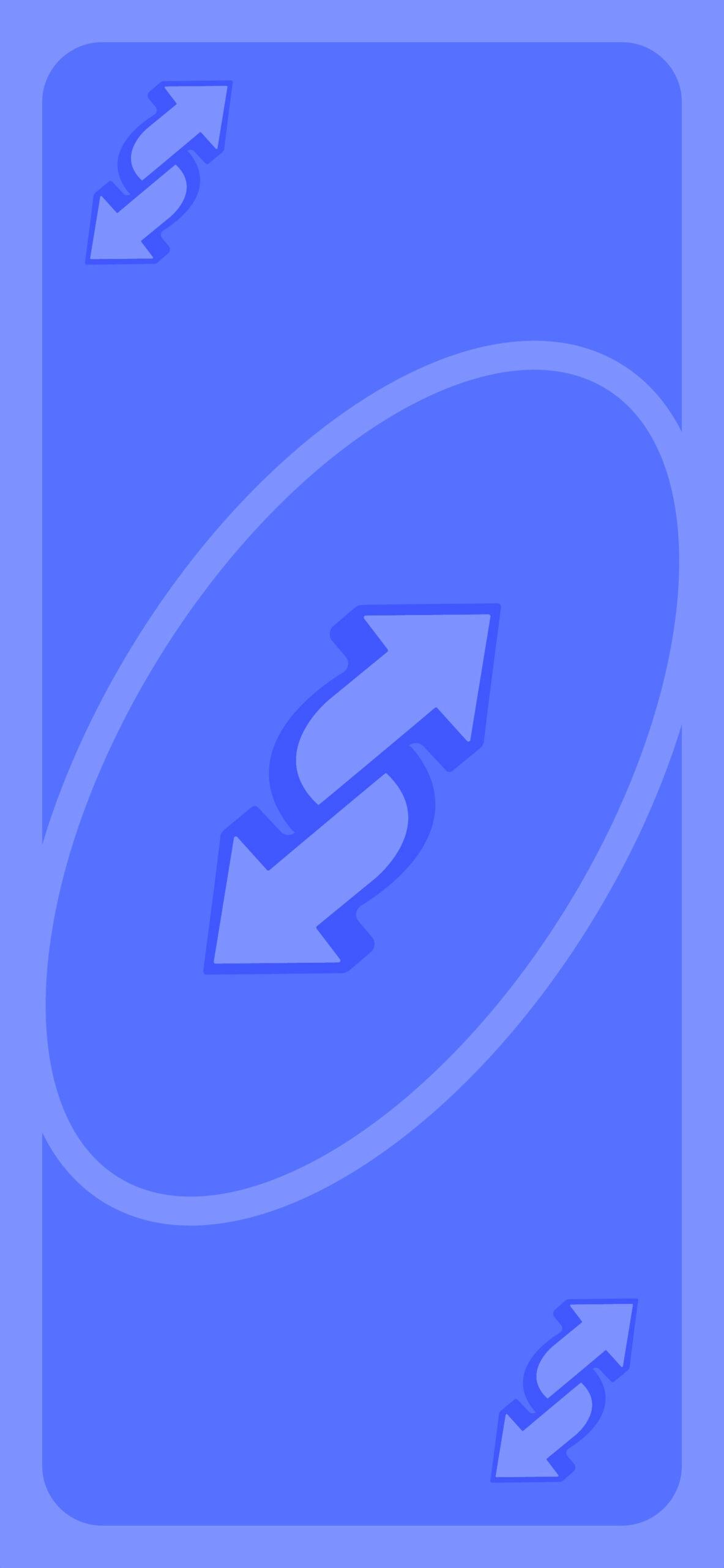 uno reverse card meme blue Background