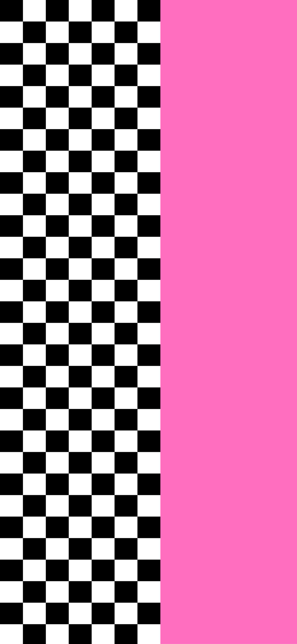 checkerboard and pink wallpaper