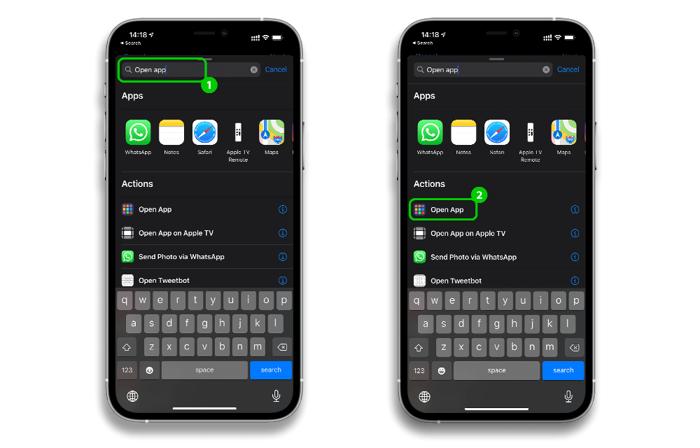 how to add app icon shortcuts 4