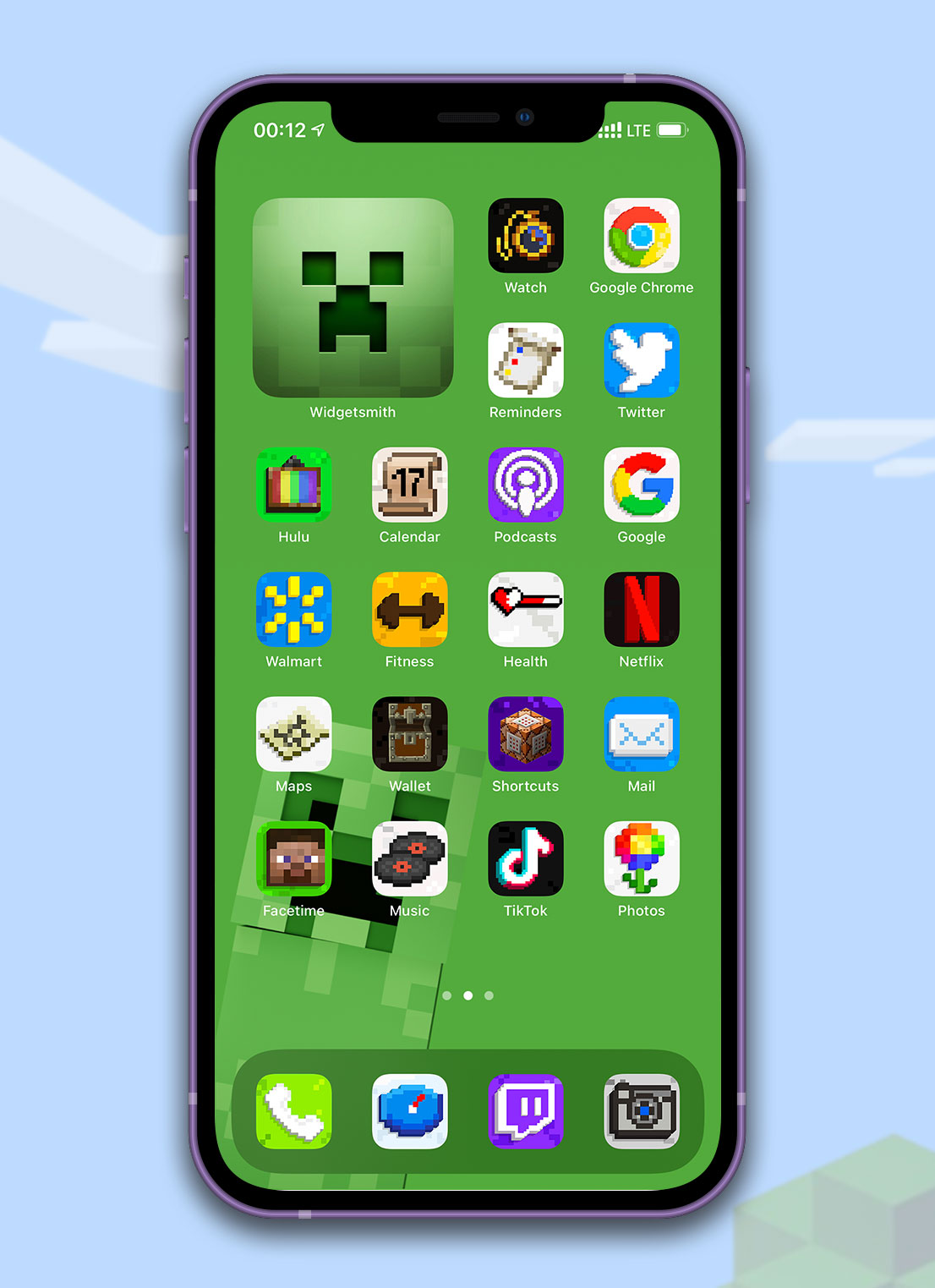 minecraft app icons pack preview 4