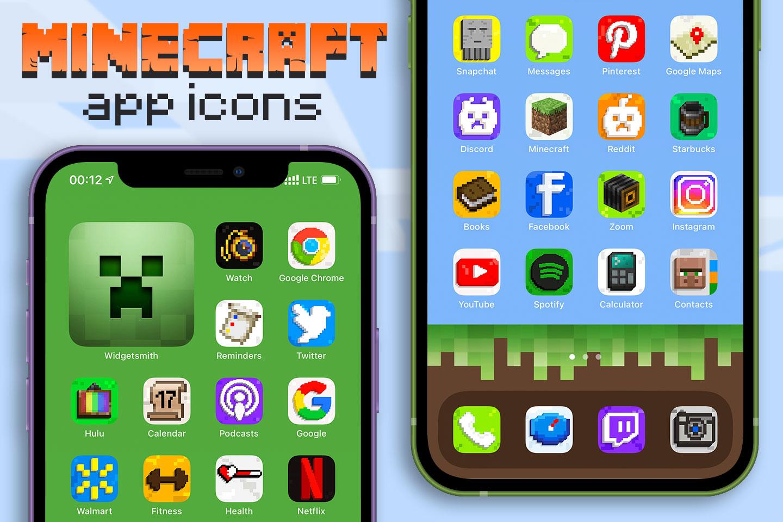minecraft app icons pack