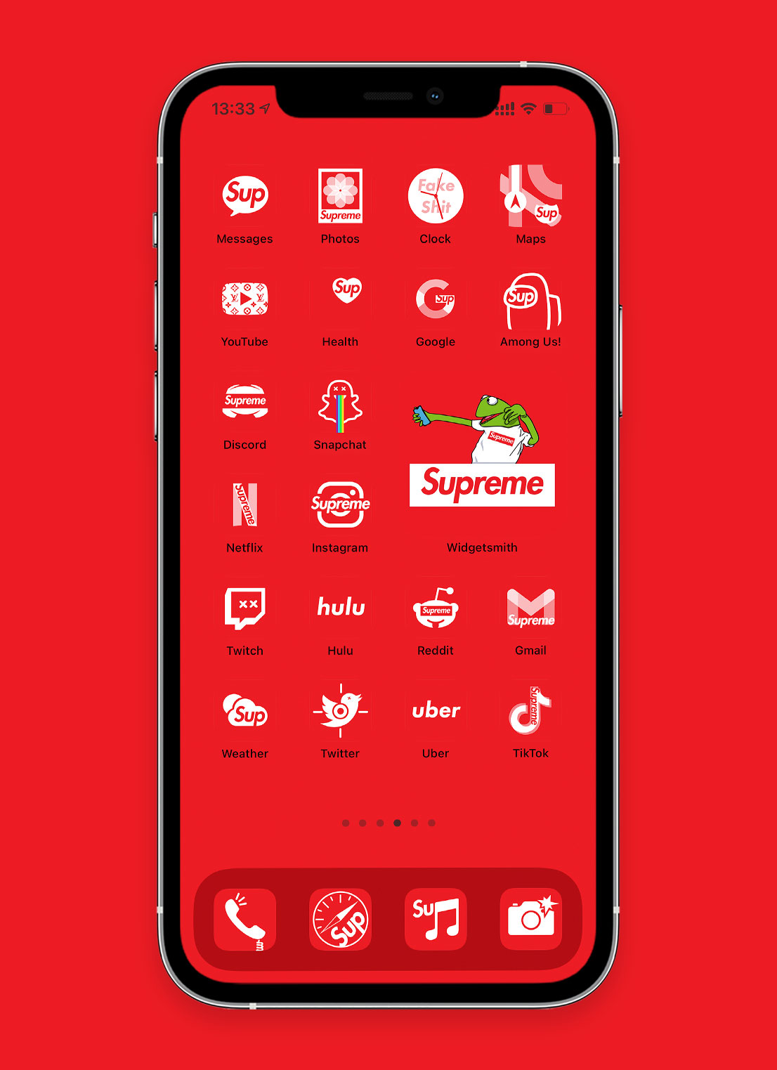 supreme app icons pack preview 2