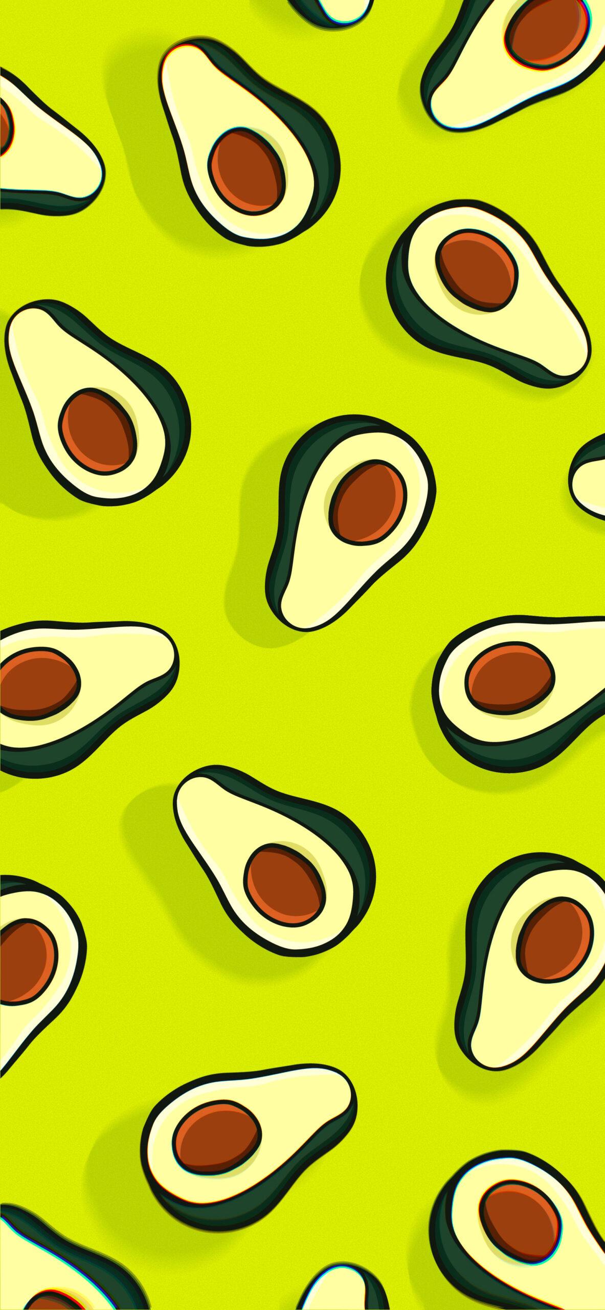 avocado green wallpaper