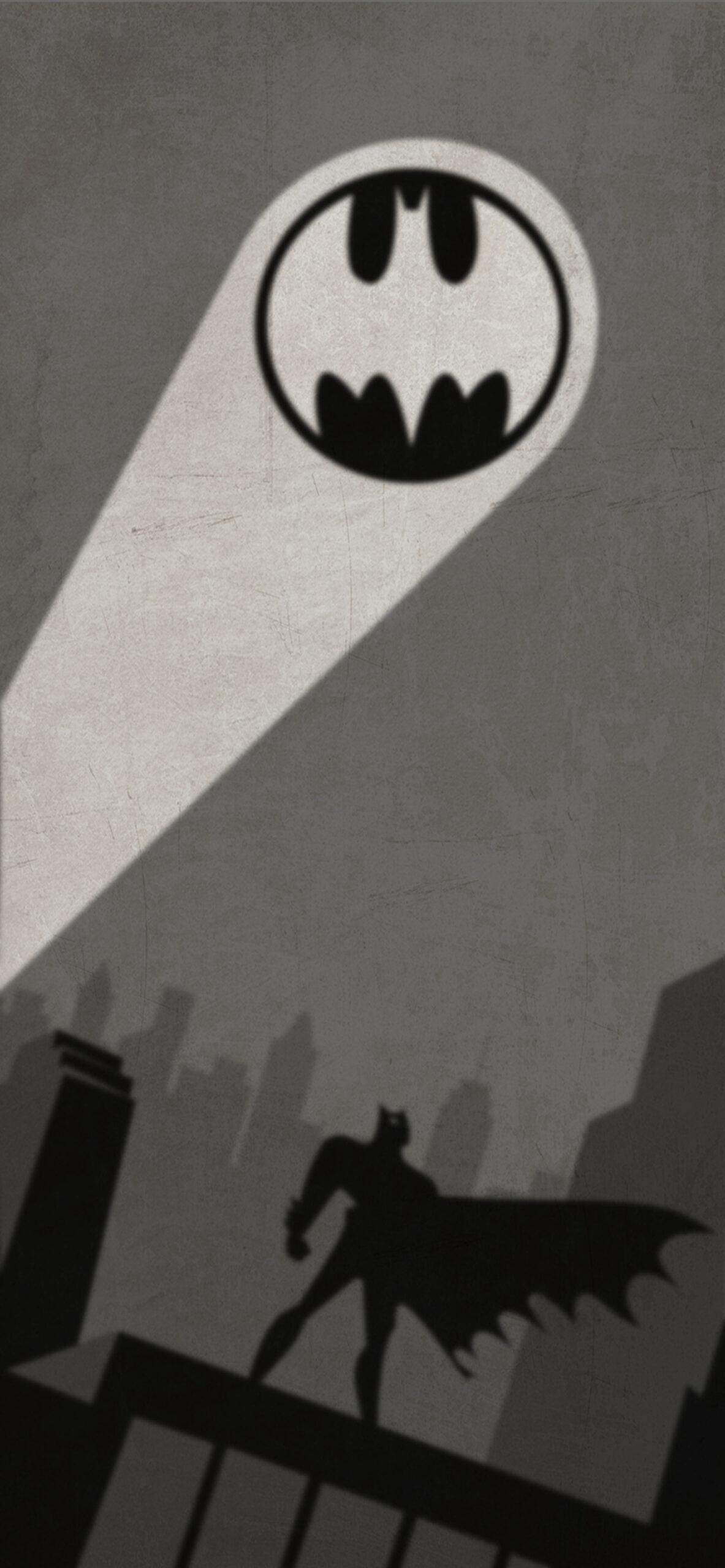 batman the animated series grey blur wallpaper
