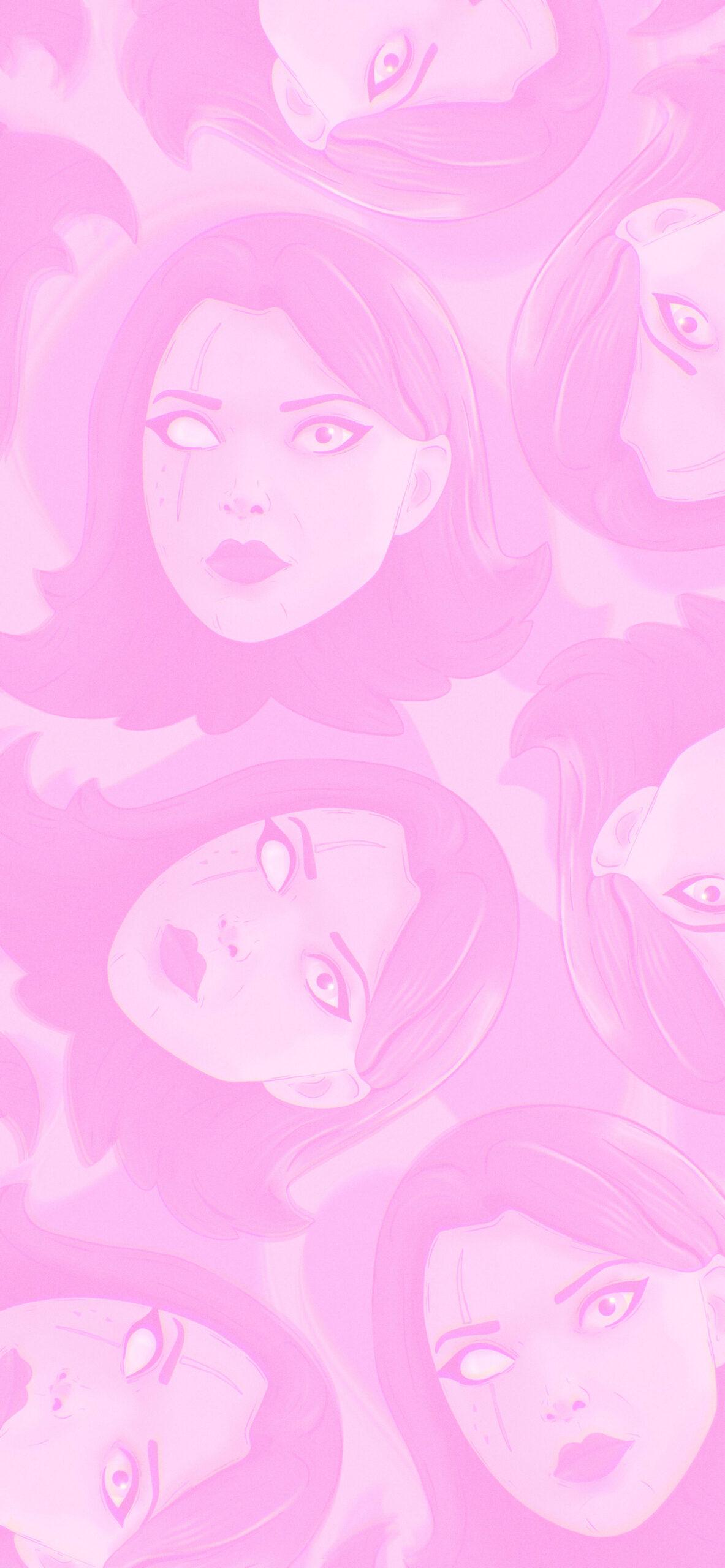 fortnite merigold pink background 2