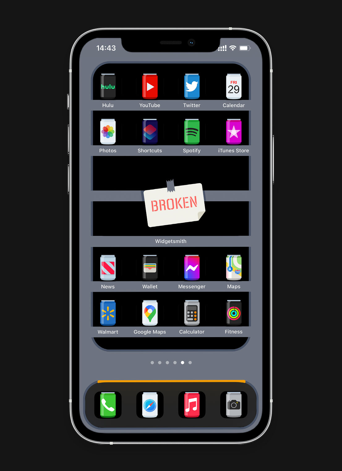 soda cans ios app icons pack preview 4