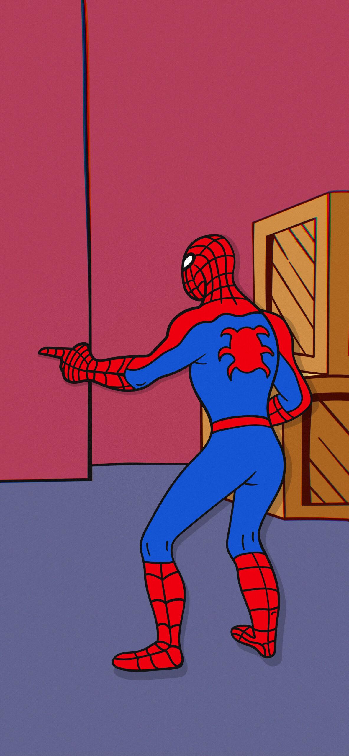 spider man pointing spider man meme wallpaper 2