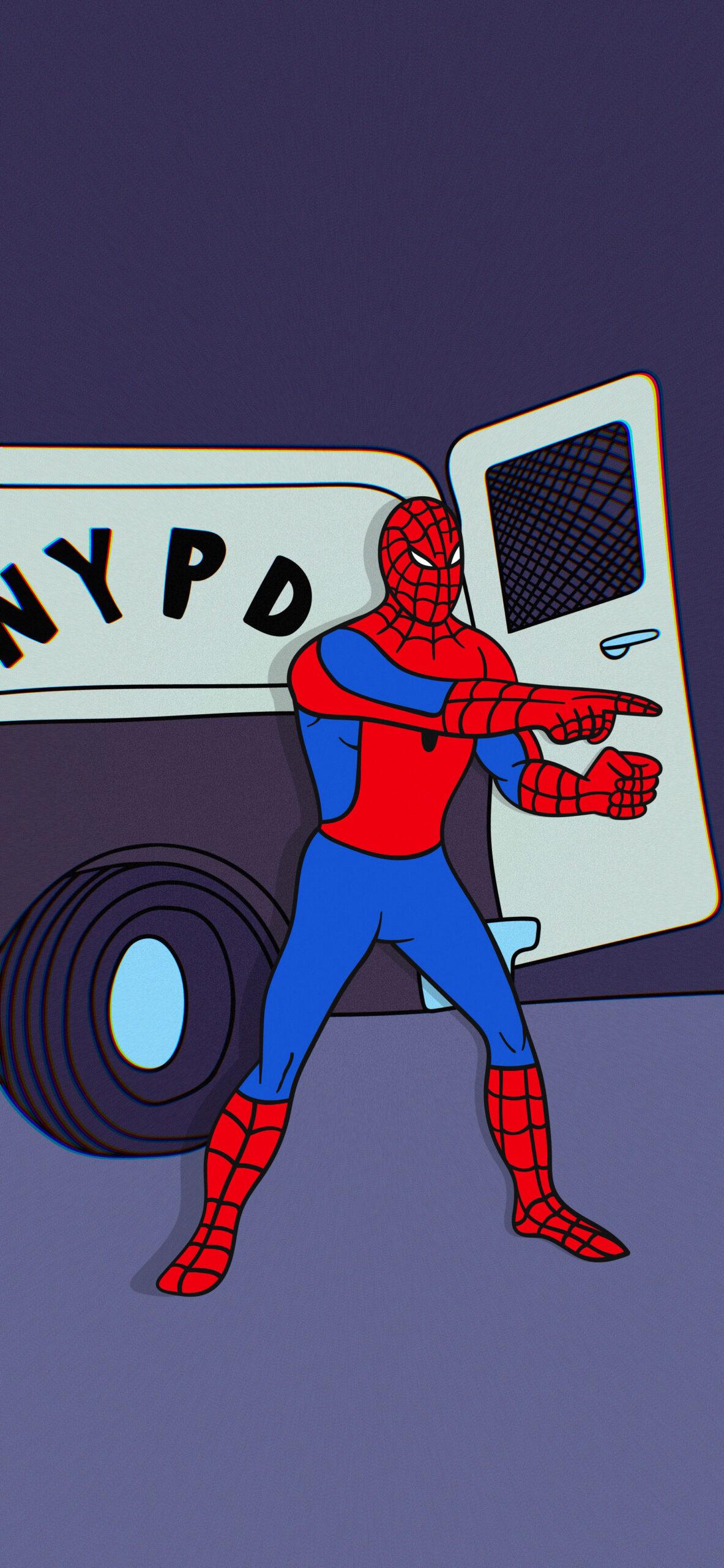 spider man pointing spider man meme wallpaper
