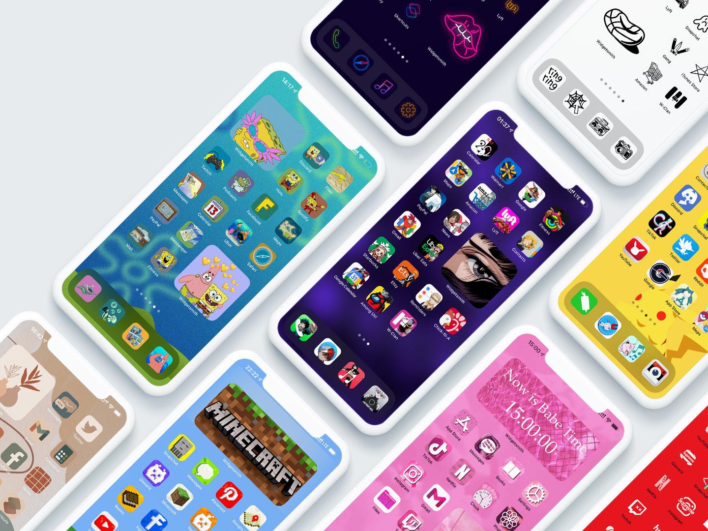 custom app icons for ios 14