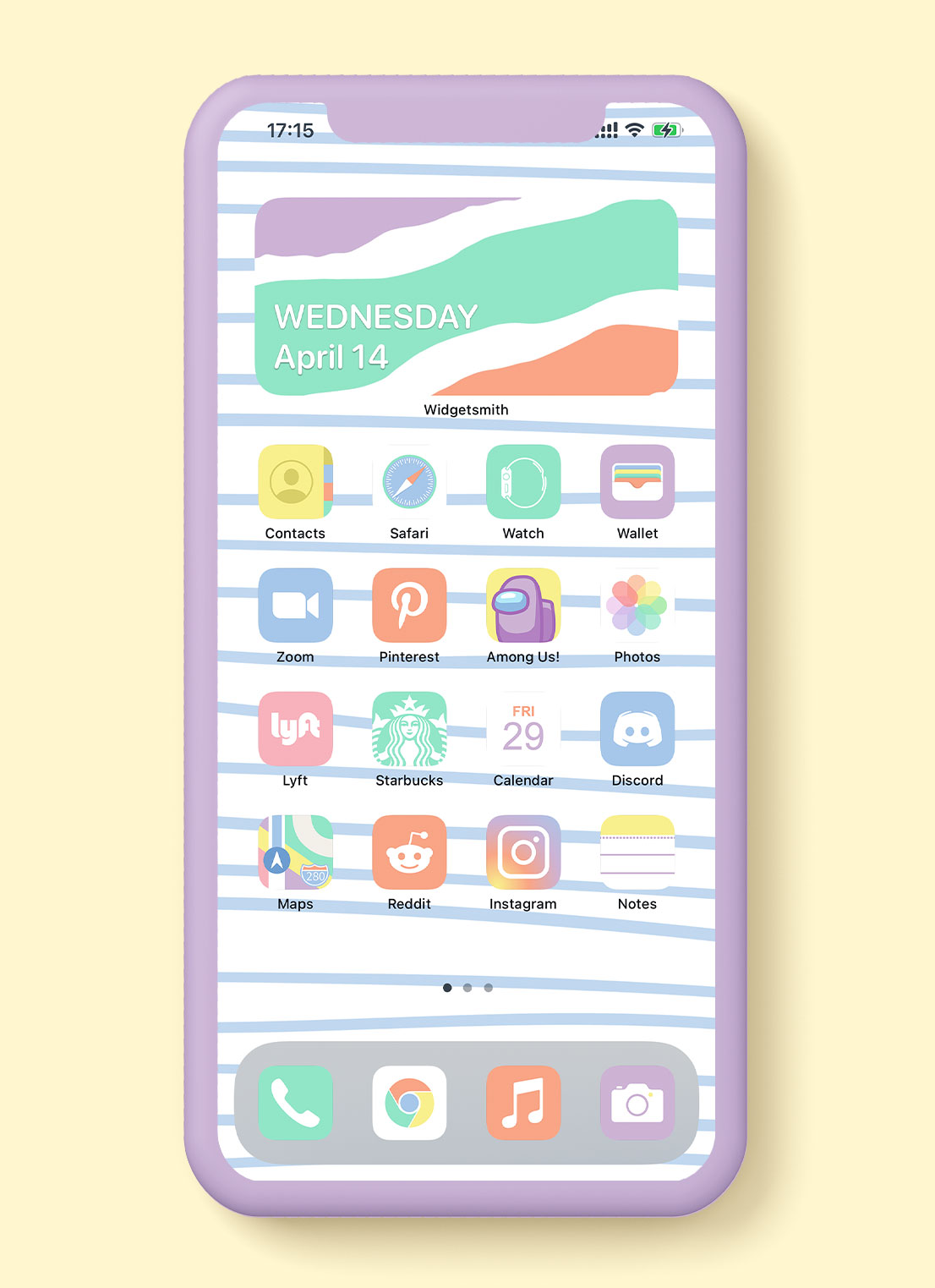 pastel ios app icons pack preview 2