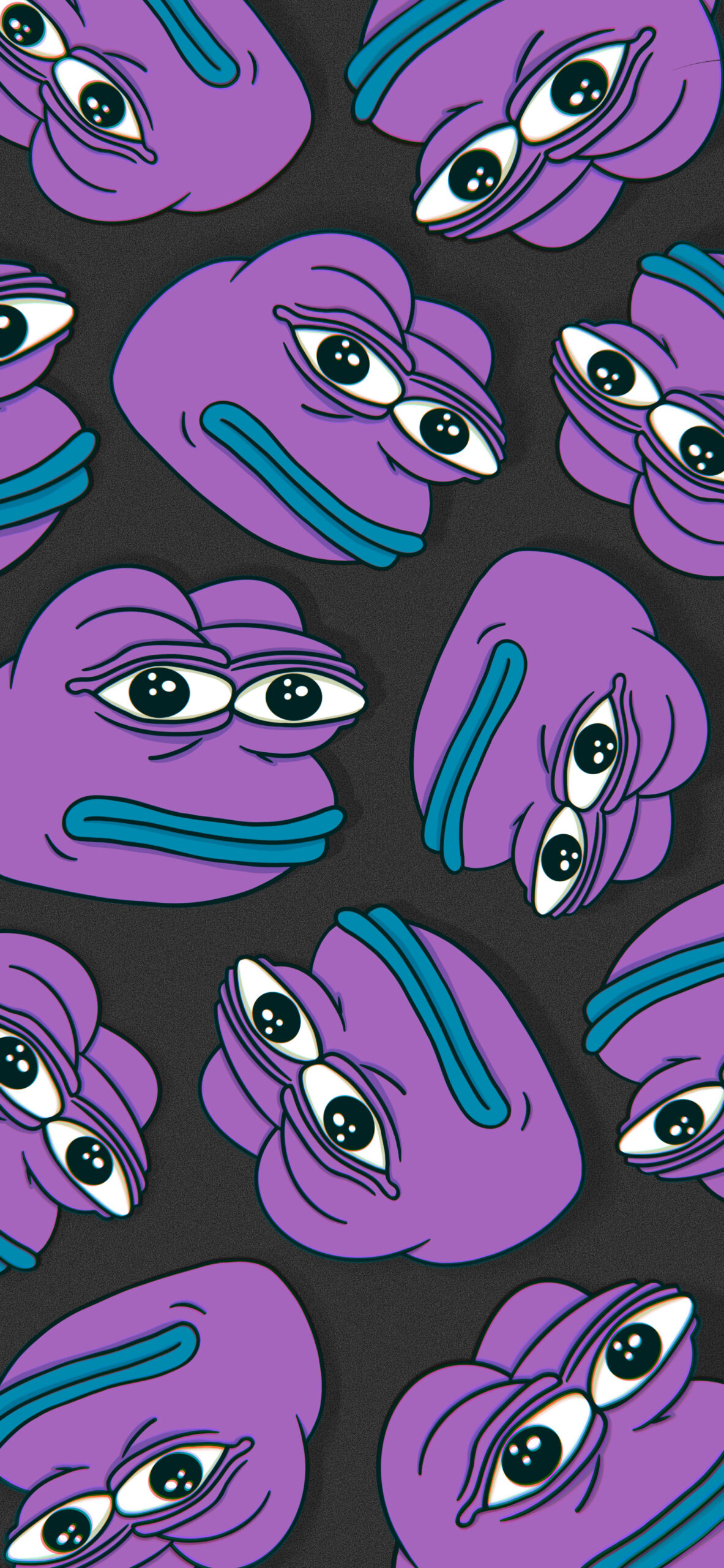 pepe the frog black meme wallpaper 2