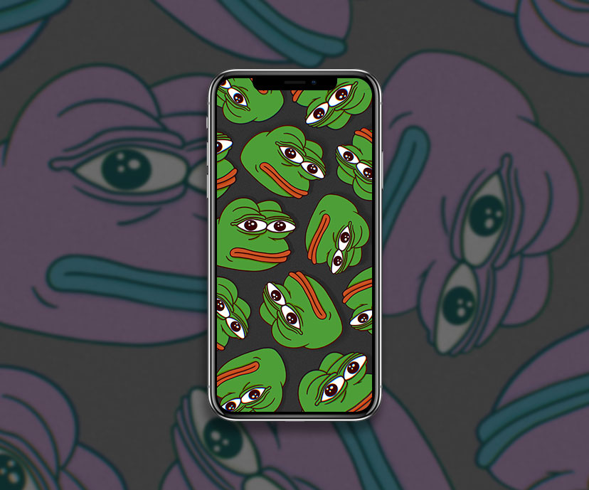 pepe the frog black meme wallpapers collection