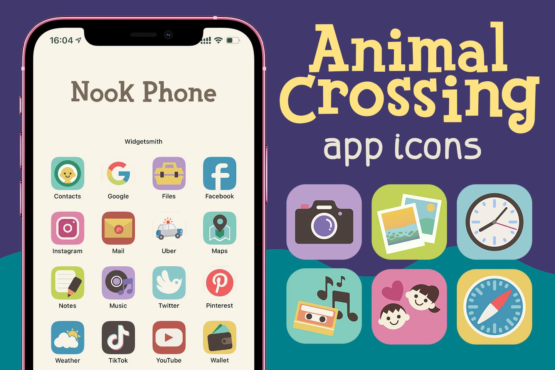 animal crossing app icons pack