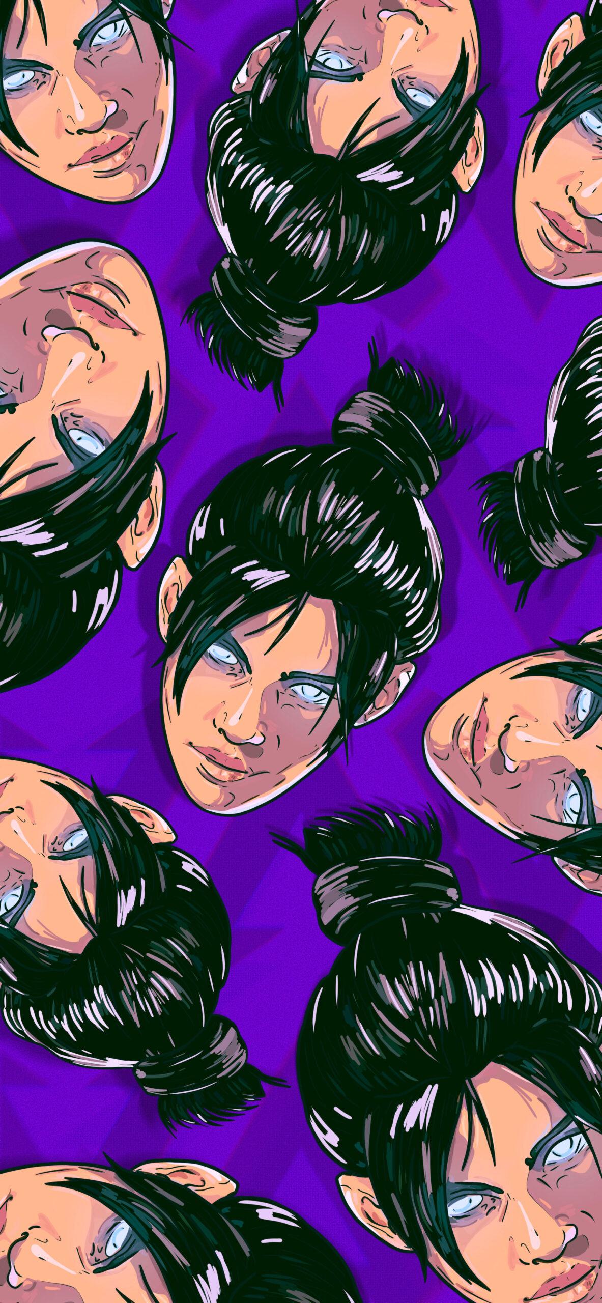 apex legends wraith purple wallpaper 2