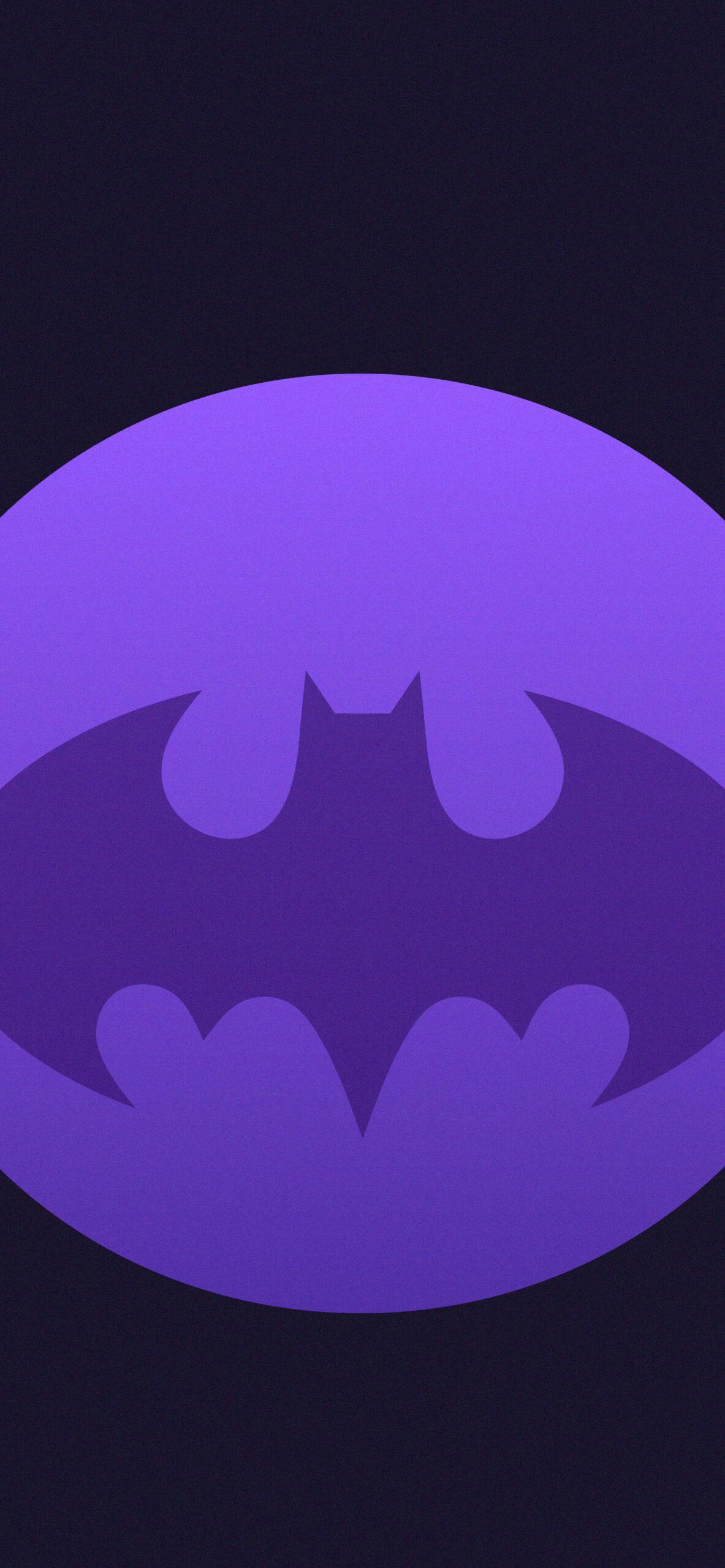 batman dark purple background