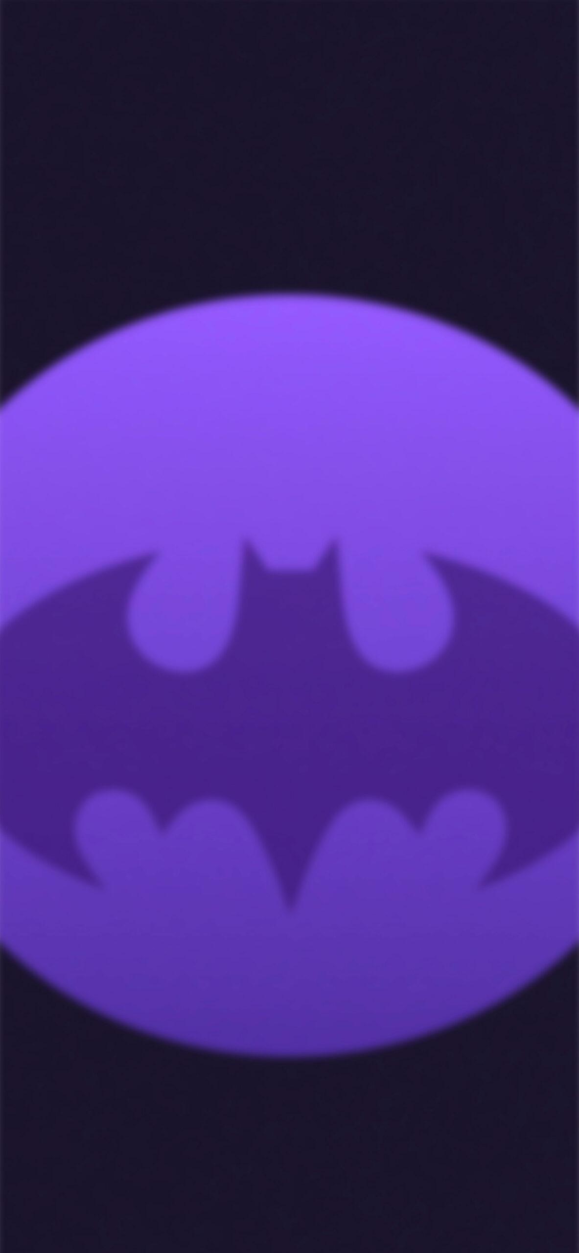 batman dark purple blur background