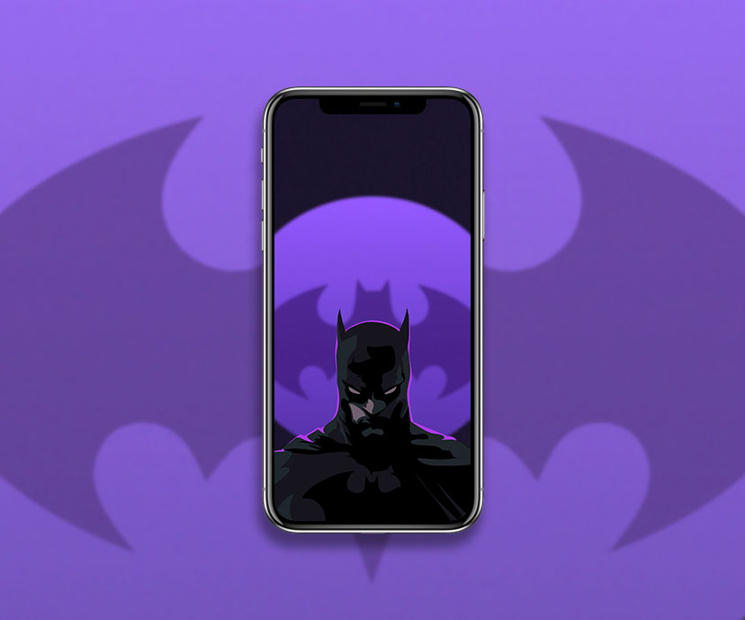 batman dark purple wallpapers collection