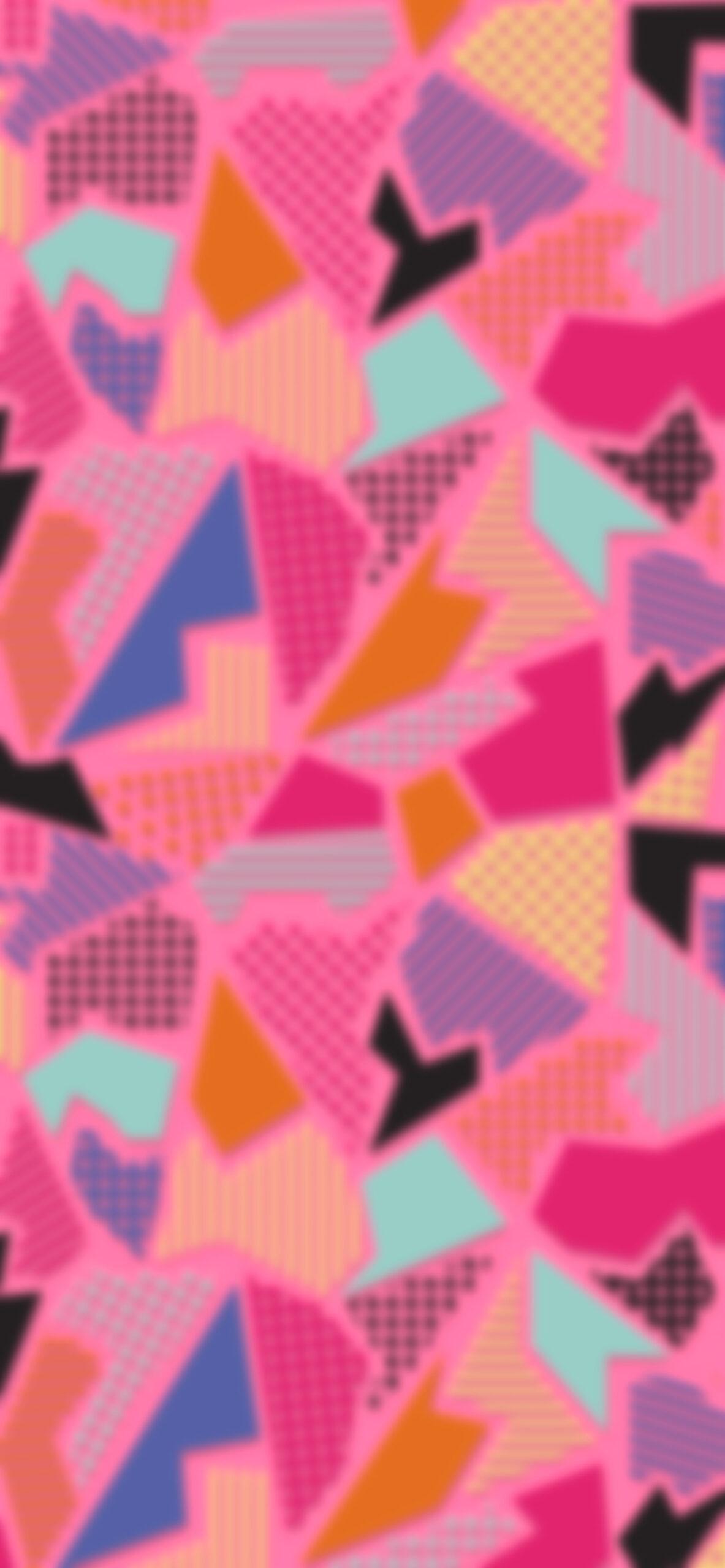 pink abstract geometric blur wallpaper