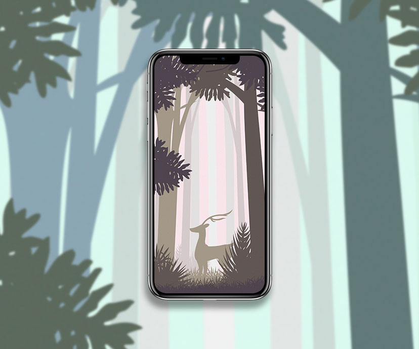 abstract forest tan wallpapers collection