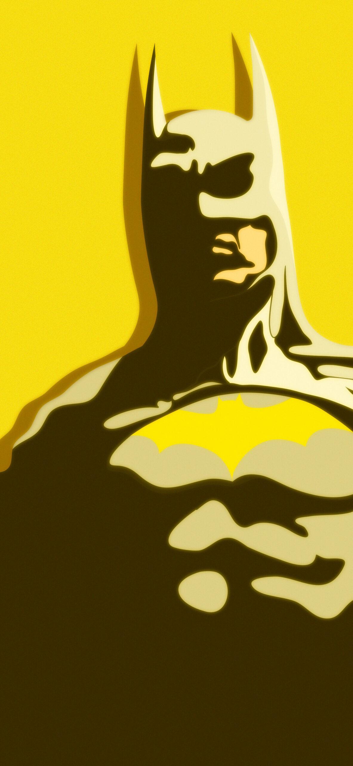 batman yellow background