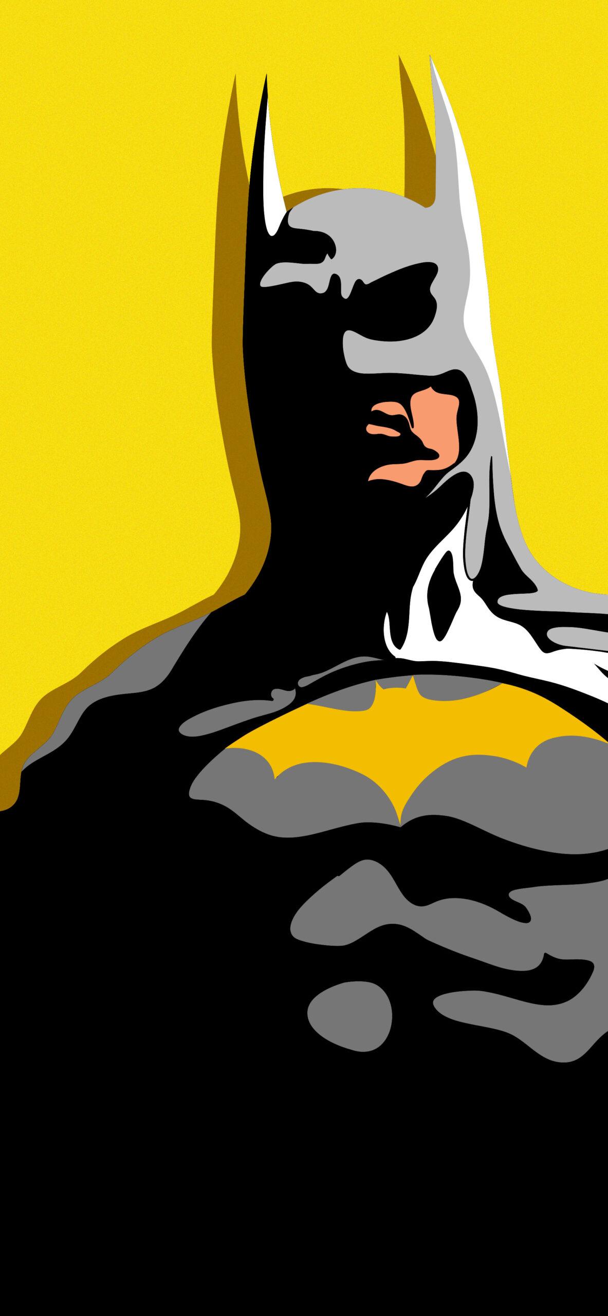 batman yellow wallpaper