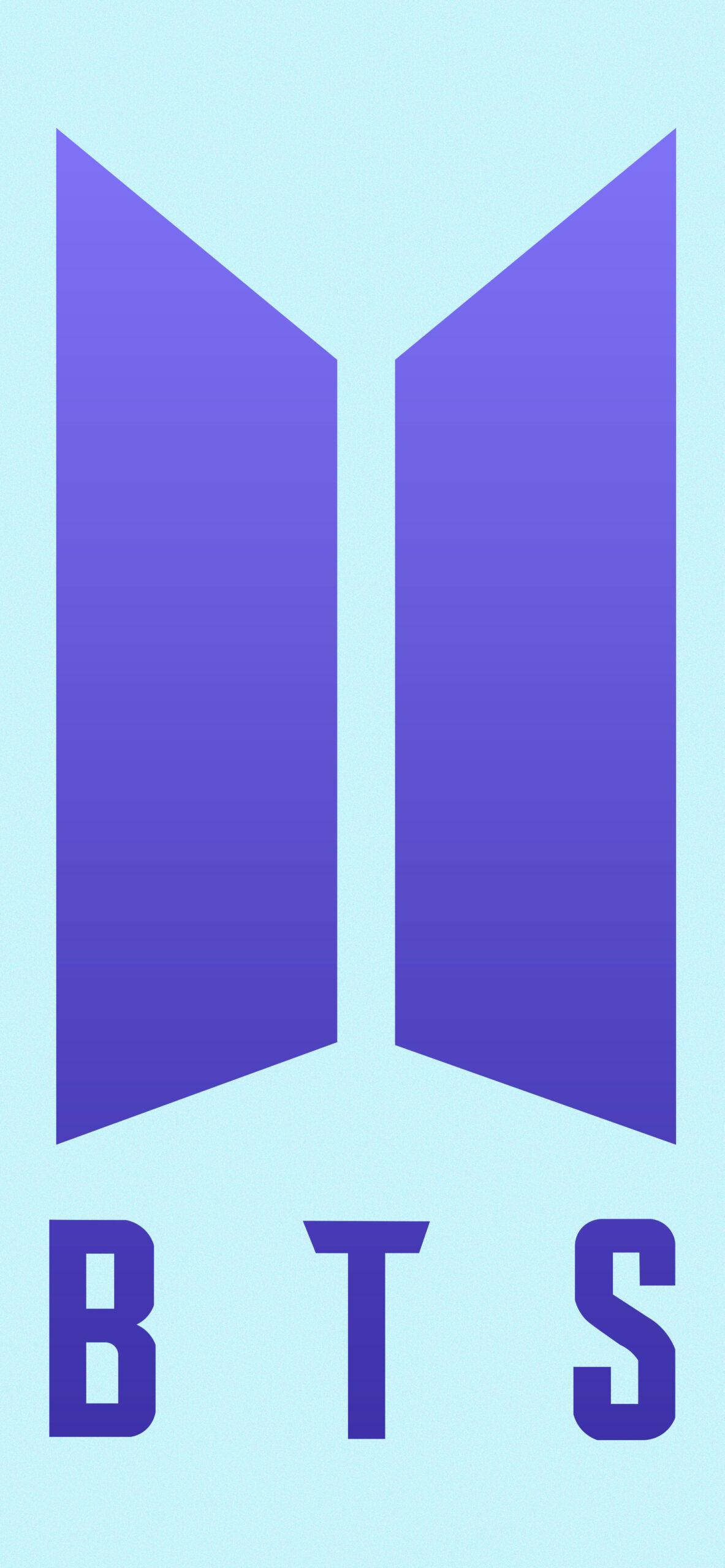 bts bt21 koya blue background