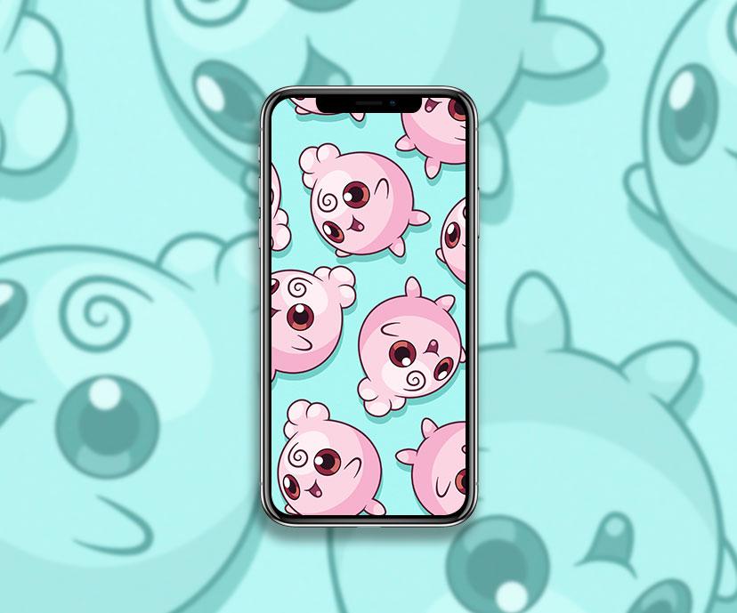 pokemon igglybuff green wallpapers collection