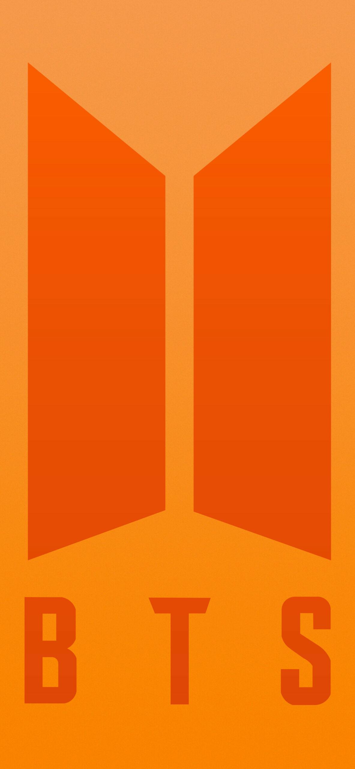 bts bt21 rj orange background